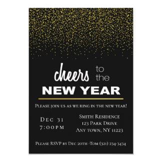Cartão Faísca do ano novo