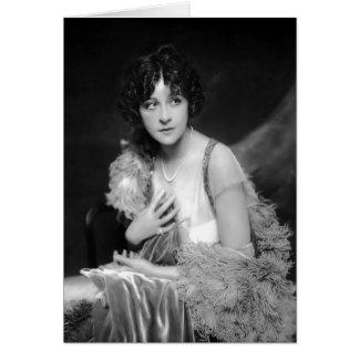 Cartão Fanny Brice