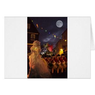 Cartão Fantasma de Charles Dickens perto