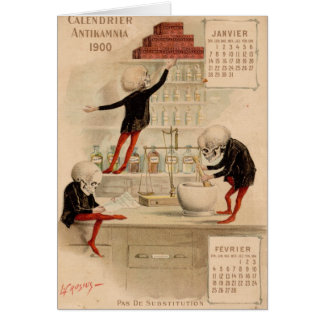 Cartão Farmácia esqueletal