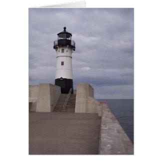 Cartão Farol de Duluth
