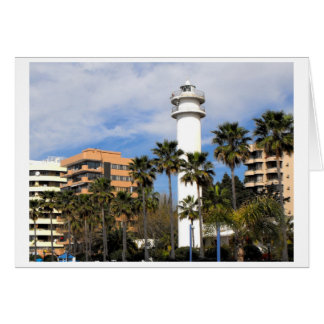 Cartão Farol em Marbella, espanha