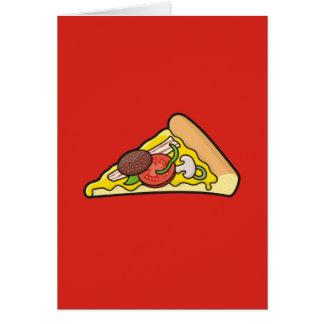 Cartão Fatia da pizza