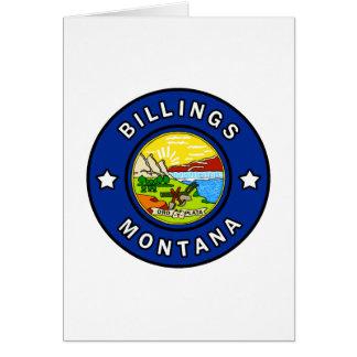 Cartão Faturamentos Montana
