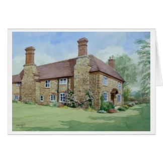 Cartão Fazenda da igreja, Ditton Priors.
