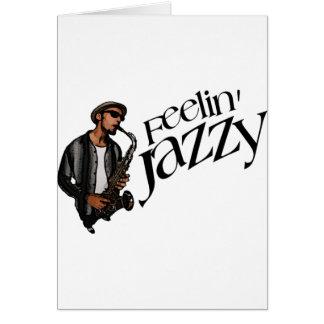 Cartão Feelin jazzístico