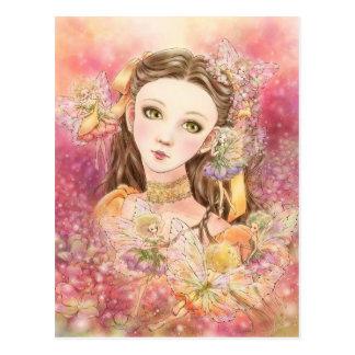 Cartão feericamente da arte da fantasia cartão postal