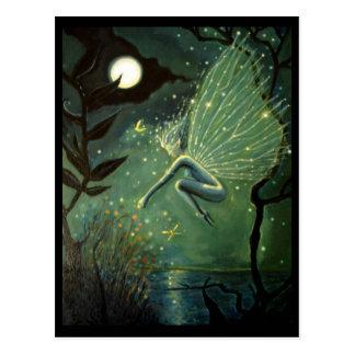 """Cartão feericamente da arte - """"Sprite de água de"""