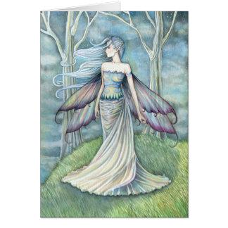 Cartão feericamente da eternidade por Molly