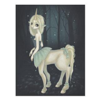 cartão feericamente da floresta do centauro