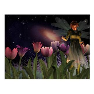 Cartão feericamente da noite