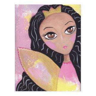Cartão feericamente da princesa cartão postal