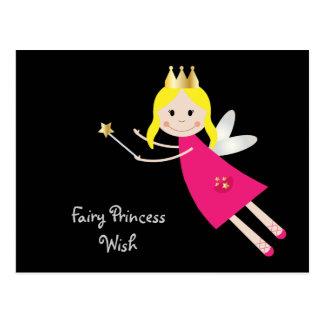 Cartão feericamente da princesa Desejo