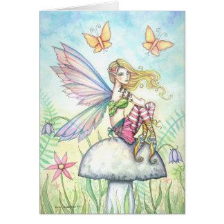 Cartão feericamente do jardim de Helena por Molly