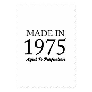 Cartão Feito em 1975