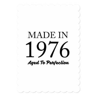 Cartão Feito em 1976