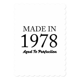 Cartão Feito em 1978