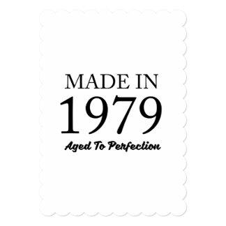 Cartão Feito em 1979