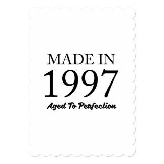 Cartão Feito em 1997