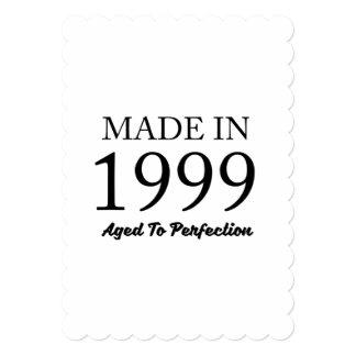 Cartão Feito em 1999