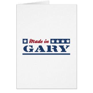 Cartão Feito em Gary