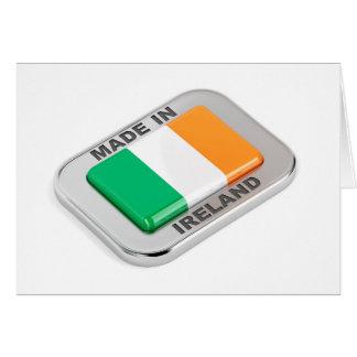 Cartão Feito em Ireland