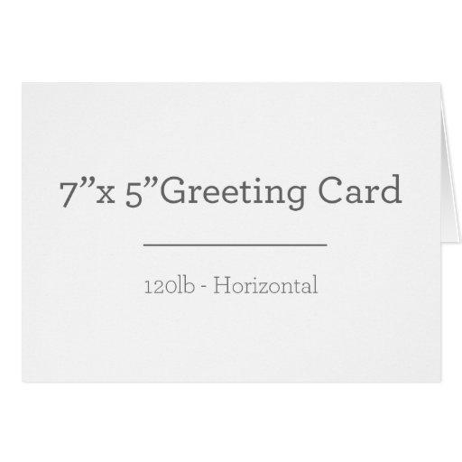 Cartão, Envelope branco padrão incluso