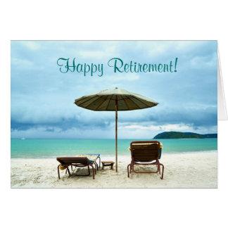 Cartão feito sob encomenda da aposentadoria da