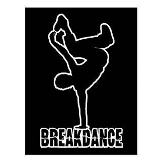 Cartão feito sob encomenda da cor de Breakdance