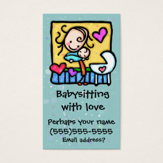 Cartão feito sob encomenda da puericultura da
