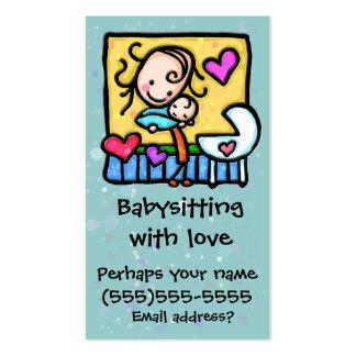 Cartão feito sob encomenda da puericultura da cartão de visita