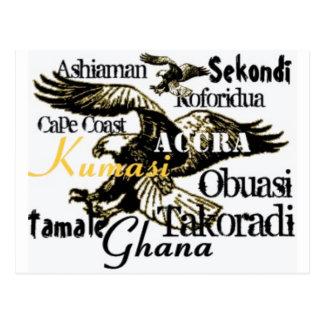 Cartão feito sob encomenda de Africankoko Ghana