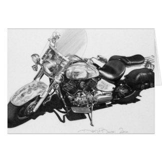 Cartão feito sob encomenda de Harley