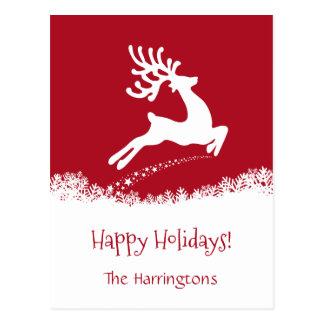 Cartão feito sob encomenda de salto dos feriados