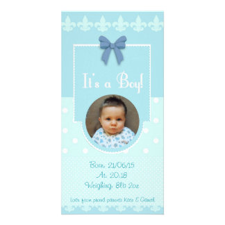 Cartão feito sob encomenda do anúncio do cartão com foto