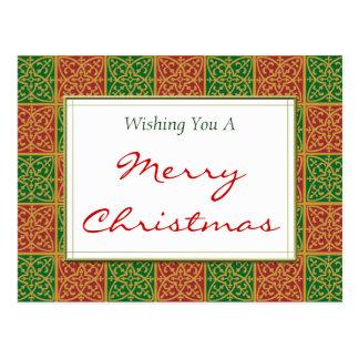 Cartão feito sob encomenda do Feliz Natal dos Cartão Postal