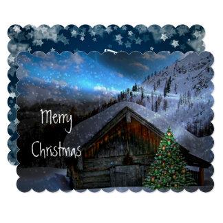 Cartão feito sob encomenda do Natal Mystical da