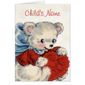 Cartão feito sob encomenda dos namorados para
