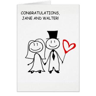 Cartão feito sob encomenda dos parabéns do dia do