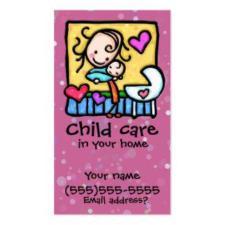 Cartão feito sob encomenda PNK da puericultura da Modelo Cartao De Visita