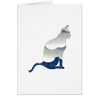 Cartão Felicidade felino