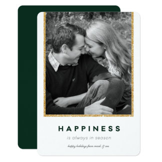 Cartão Felicidade moderna