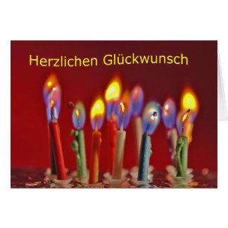 Cartão Felicidades cordiais