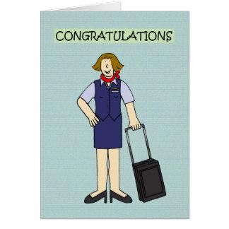 Cartão Felicitações do grupo da cabine
