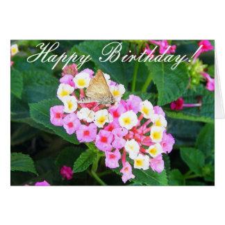 Cartão Feliz aniversario!