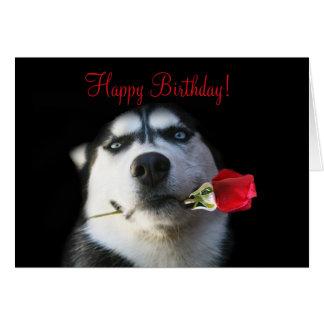 Cartão Feliz aniversario bonito a meu cunhado