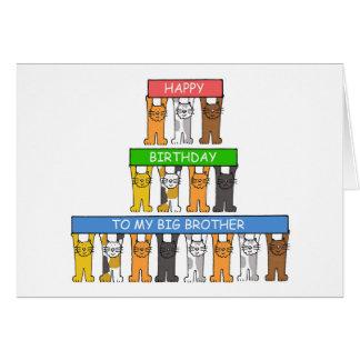 Cartão Feliz aniversario do big brother