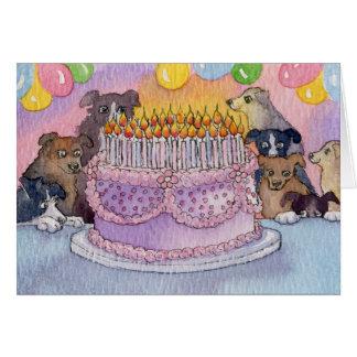 Cartão Feliz aniversario! Esperança você obtem lotes do