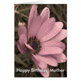 Cartão feliz aniversario feminino, mãe