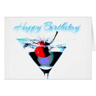 Cartão Feliz aniversario - hora de comemorar